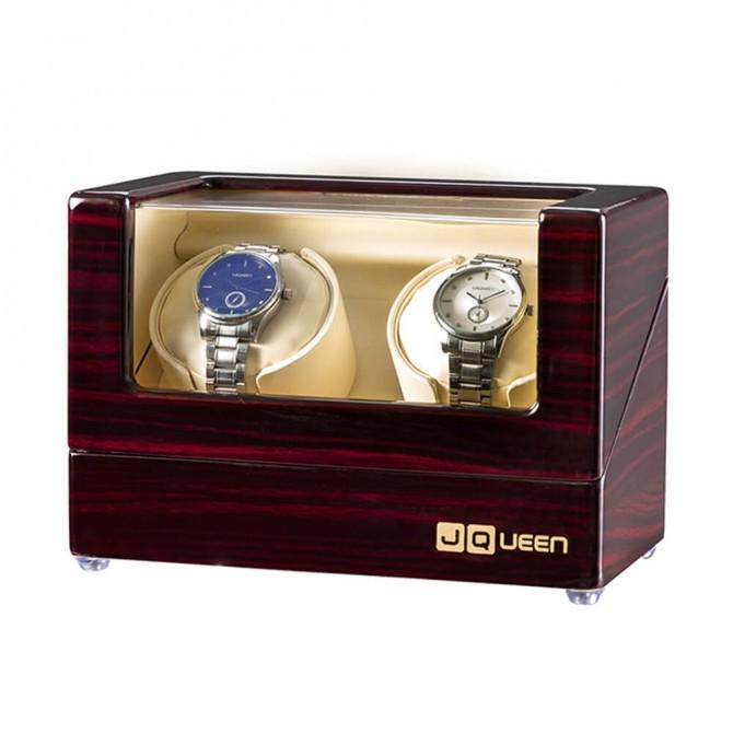 Discount Jqueen Wooden Double Watch Winder Ebony