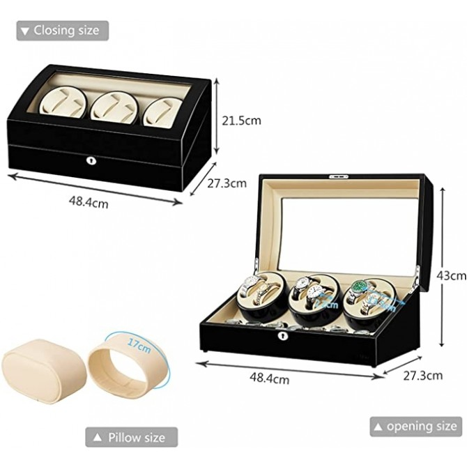 Sepano Watch Winder Box for Automatic Watches with Large Capacity