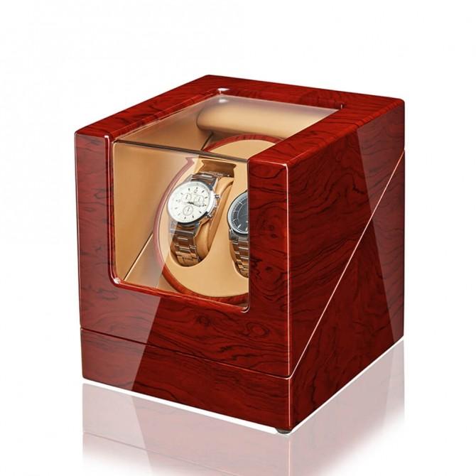 Discount Jqueen Wooden Double Watch Winder Bubinga