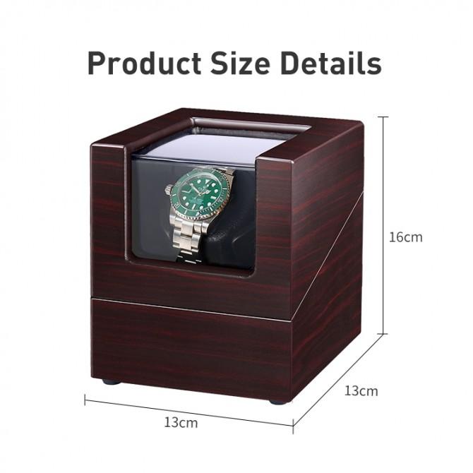Jqueen Wooden Small Single Watch Winder