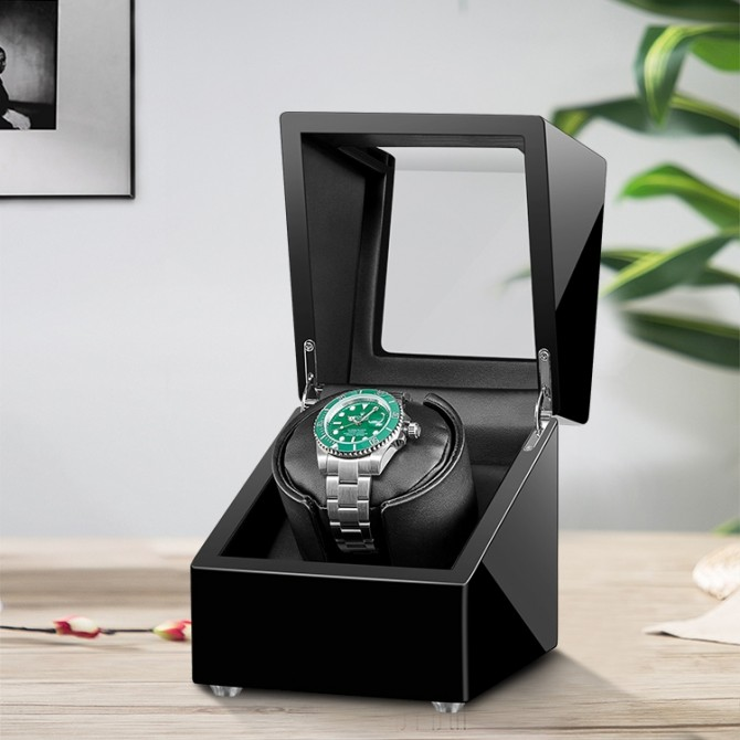 Best Sepano Wooden Single Watch Winder Black