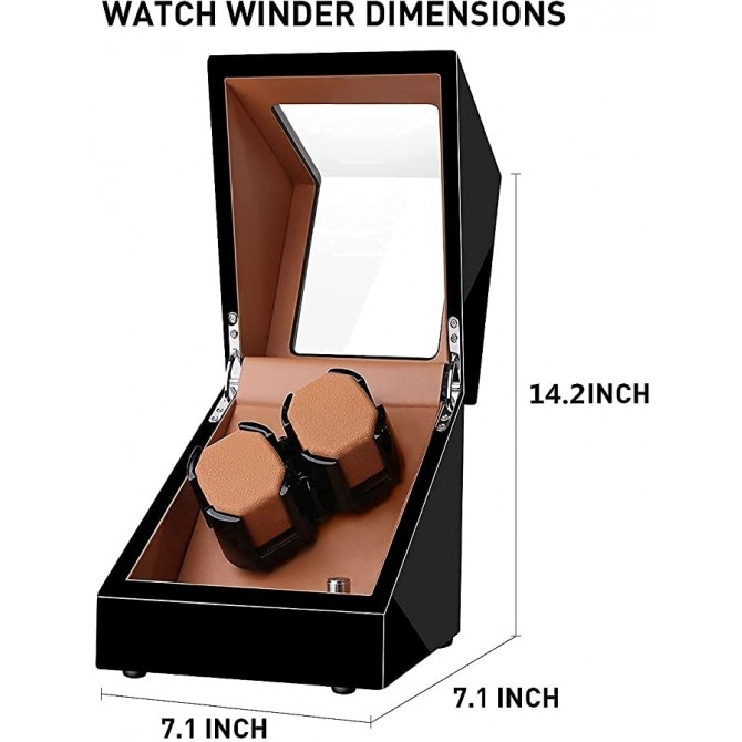 Sepano Double Watch Winders for Automatic Watches with Ultra-Quiet Motor