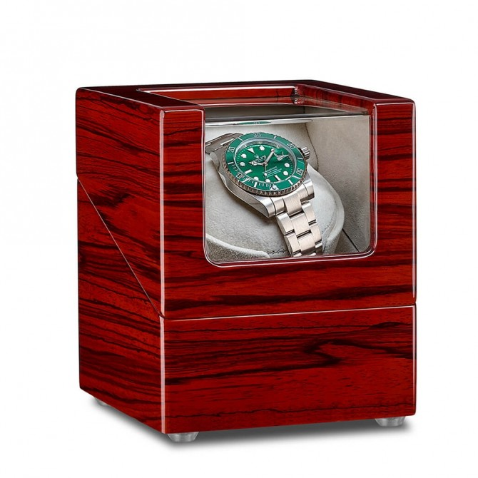 Discount Jqueen Rosewood Single Watch Winder Red